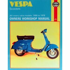 Manual Haynes for 1978 Vespa 150 Super (VBC1T) (145cc)