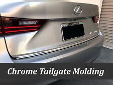 For AUDI 2003-2010 2011-2018 Chrome Silver Rear Trunk Trim Molding Kit Accent