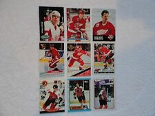 Mark Howe  9 Card Lot ALL DIFFERENT Detroit Red Wings Philadelphia Flyers