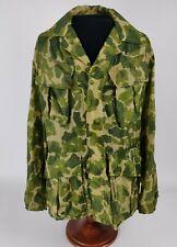 Vietnam Us Army Usmc Camo Slant Pocket Jungle Jacket Made Of Parachute Material