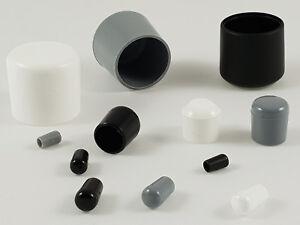 Kunststoffkappen PE PVC für Rundrohre Stuhlbeinkappen Stuhlkappen Abdeckkappen