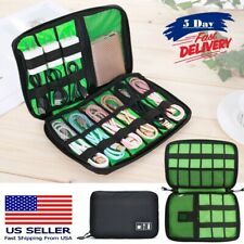 Electronics Accessories Organizer Bag,Portable Storage Carrying Travel Case Bag