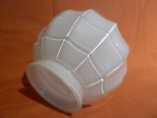Opaline Art Deco Style Glass Globe Light Shade