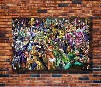 Art JoJo's Bizarre Adventure Anime -20x30 24x36in Poster - Hot Gift C1413