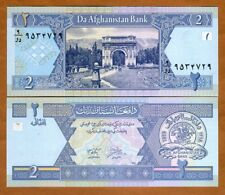 AFGHANISTAN #64a 2002 UNC MINT AFGHANIS BANKNOTE BILL NOTE