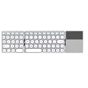 Portable Bluetooth Keyboard for iPhone iOS iPad Android Windows Folding Keyboard