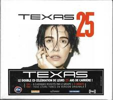 2 CDs DIGIPACK 27T TEXAS 25 DELUXE EDITION WITH FRENCH STICKER NEUF SCELLE 2014