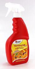 Insetticida pronto uso azione abbattente Tetracip spray 500ml mosche e zanzare