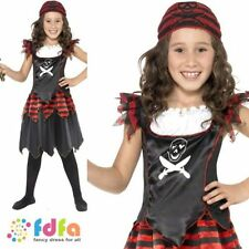 Pirate Synthetic Smiffys Complete Outfit Fancy Dresses