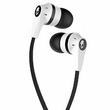 Skullcandy INK'D 2 Earphone Headphone with MIC for Apple iPhone Android White