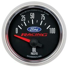 AutoMeter 880076 Ford Racing Series Electric Oil Pressure Gauge