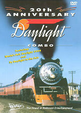 20th Anniversary Daylight Combo DVD Pentrex 4449 Cab Ride Southern Pacific SP