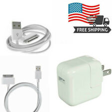 12W USB Power Adapter Wall Charger for Apple iPad2 3 4 Air + 30 Pin Cable OEM