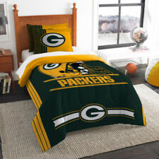 NEW NFL Green Bay Packers Comforter Set - Twin or Full Size Bed - FREE Shipping!