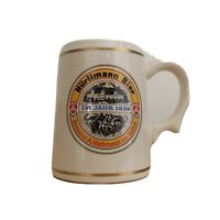 Vintage Hurlimann Switzerland Mini Beer Mug Tankard Franklin Porcelain ~ 1981