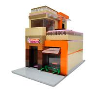 LEGO Restaurant Creator Modular Donut City Custom Building MOC