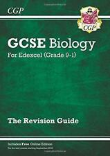New Grade 9-1 GCSE Biology: Edexcel Revision Guide with Online Edition by CGP Bo