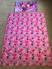 Disney Minnie Mouse Daisy Duck Hearts & Bows 2-Piece Toddler Bedding Set
