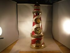 New Lighted Lighthouse Clock/Thermostat & Hidden Drawers Music Box