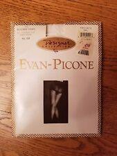 Evan-Picone Feather Stripe Control Top Pantyhose In Paris White Up To 5' 5 & 130