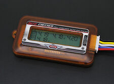 AIRSOFT LIPO VOLTAGE METER FOR LITHIUM POLYMER BATTERY CELL CHECKER
