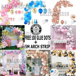 Balloon Arch Kit +Balloons Garland Birthday Wedding Baby Shower Party Decoration