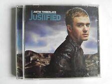 JUSTIN TIMBERLAKE CD JUSTIFED