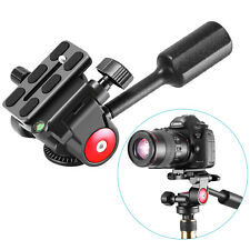 Panoramic Tripod Head with Quick Plate Compatible with RRS//ARCA Ball Head or Any Tripod Head//Tripod with 1//4 or 3//8 Mount SIOTI 360/°Panoramic Head