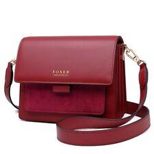 Women Cross Body Handbag Shoulder Strap Split Leather Lady Flap Messenger Bags