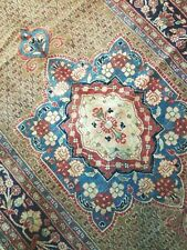 New listing 5.4 x11.2 Antique Veg Dye Caucasian Oushak Vintage Serapi Kazak Heriz Shirvan