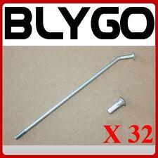 """32X Spokes+ End Cap Nuts 1.85-12"""" inch Rear 32 Spokes Wheel Rim PITPRO DIRT BIKE"""