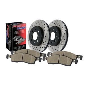 StopTech For 1999-2011 Acura / Honda Front Disc Brake Pad Rotor Kit - 909.40003