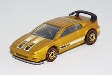Hot Wheels 2011 Hot Ones Series CHASE Lotus Esprit Mtflk Gold w/ Red Lines