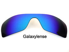 Galaxy Replacement Lenses For Oakley Batwolf Blue Color Polarized 100% UVAB
