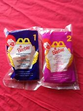 Mcdonalds Barbi 1996 - TWO TOTAL #1 & #2