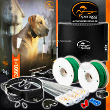 SportDOG SDF-100C In-Ground Fence 1000' Wire 20 Gauge & Rechargeable Dog Collar