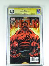 Hulk 1 CGC 9.8 signed by Stan Lee & Ed McGuinness 1st Red Hulk