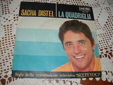 "SACHA DISTEL "" LA QUADRIGLIA "" SIGLA TV SETTEVOCI  ITALY'67"