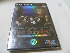 SEALED NEW PS2 SHIN MEGAMI TENSEI DEVIL SUMMONER RAIDOU KUZUNOHA ARMY ATLUS NFS