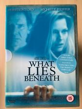 What Lies Beneath DVD 2000 Supernatural Horror Film Movie w/ Plastic Slipcover