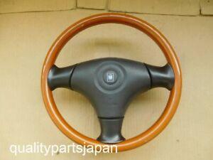 Nardi Mazda Miata Roadster Wood Steering Wheel NB8C MX-5 MX5