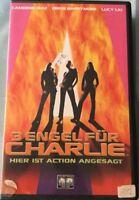 VHS 3 Engel für Charlie (2001) Action mit Cameron Diaz FSK 12 Guter Zustand