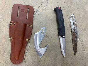 Kershaw Kai Blade Trader 1098 L Hunting Knife