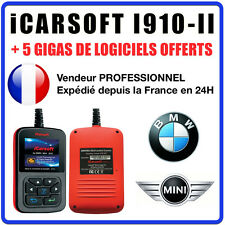 Valise Diagnostique BMW & MINI - iCarSOFT I910-II - INPA K+DCAN DIS ICOM
