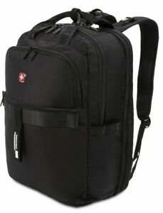 "Swiss Gear 15"" Laptop Backpack USB Scan Smart TSA Friendly SA3670 Airflow NWT"