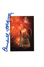 Senator WENDELL FORD In-person Signed Souvenir Card