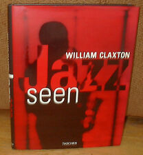 SIGNED William Claxton Jazz Seen Miles Davis Lena Horne Ray Charles Chet Baker