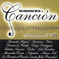 Various Artists : Los Maestros de La Cancion CD