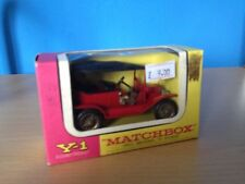 MATCHBOX YESTERYEAR Y-1 1911 Model T Ford