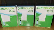 300 ONE TOUCH ULTRA TEST STRIPS  BNIB EXP 07/2022